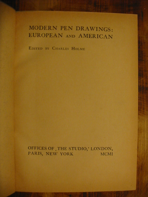 Modern Pen Drawings,European and American