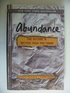 Abundance the Future is better than You think